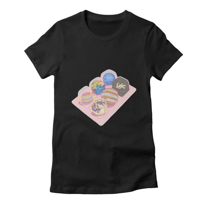 universe space pack Women's T-Shirt by makapa's Artist Shop