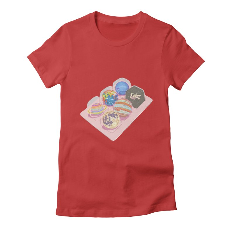 universe space pack Women's T-Shirt by makapa's Artist Shop