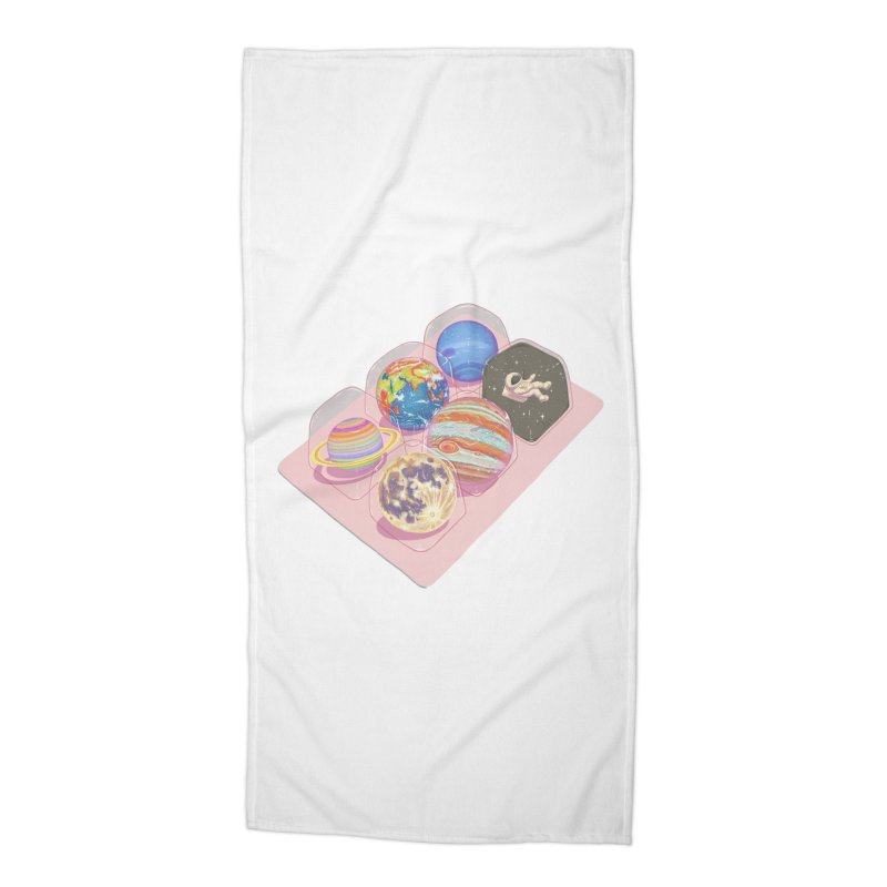 universe space pack Accessories Beach Towel by makapa's Artist Shop