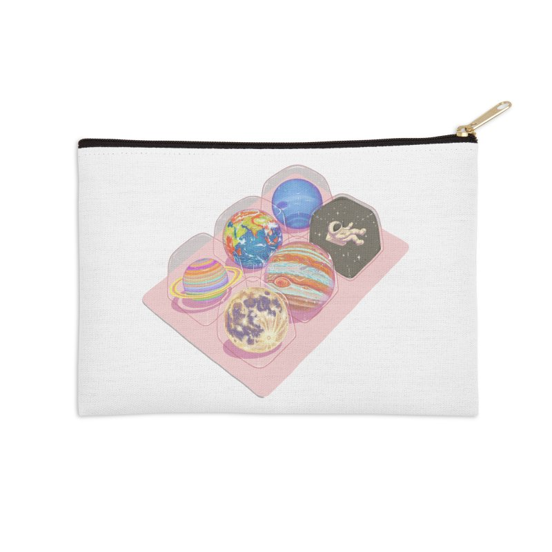 universe space pack Accessories Zip Pouch by makapa's Artist Shop
