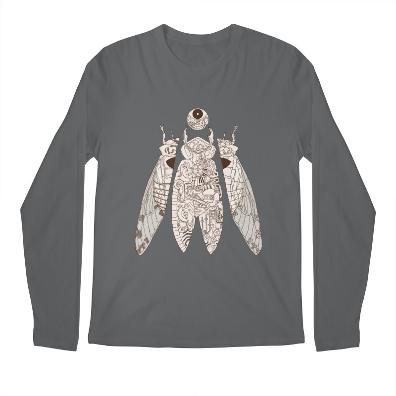 cicada poem Men's Longsleeve T-Shirt by makapa's Artist Shop