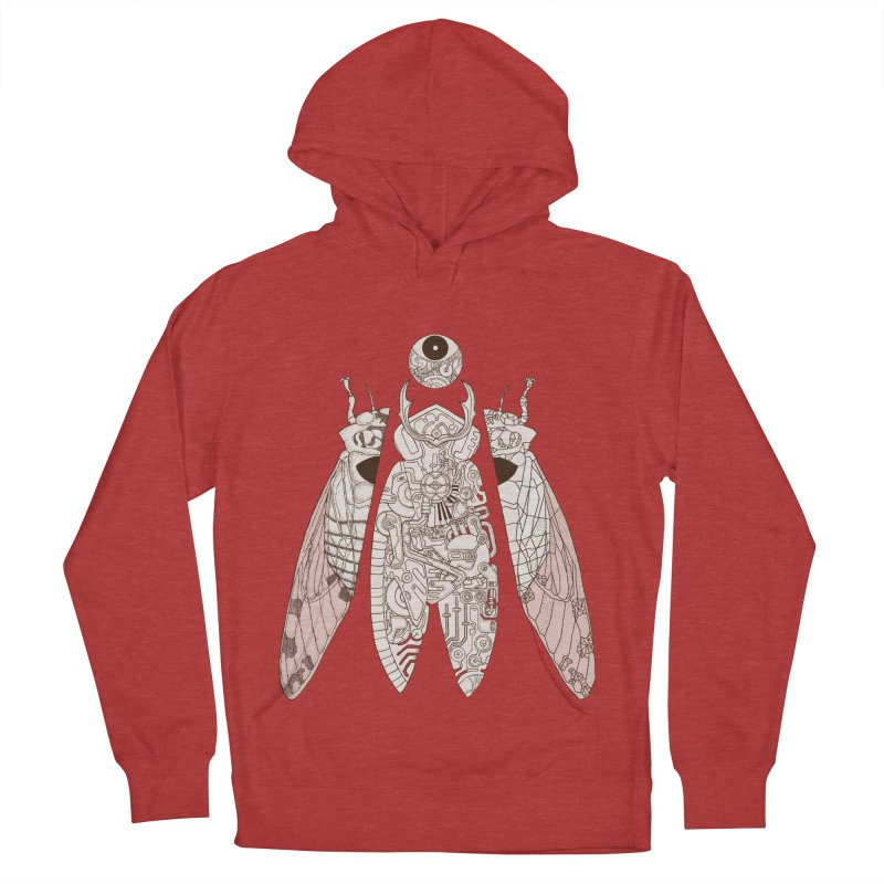 cicada poem Men's Pullover Hoody by makapa's Artist Shop