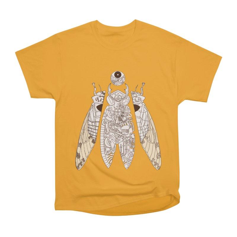 cicada poem Men's Heavyweight T-Shirt by makapa's Artist Shop