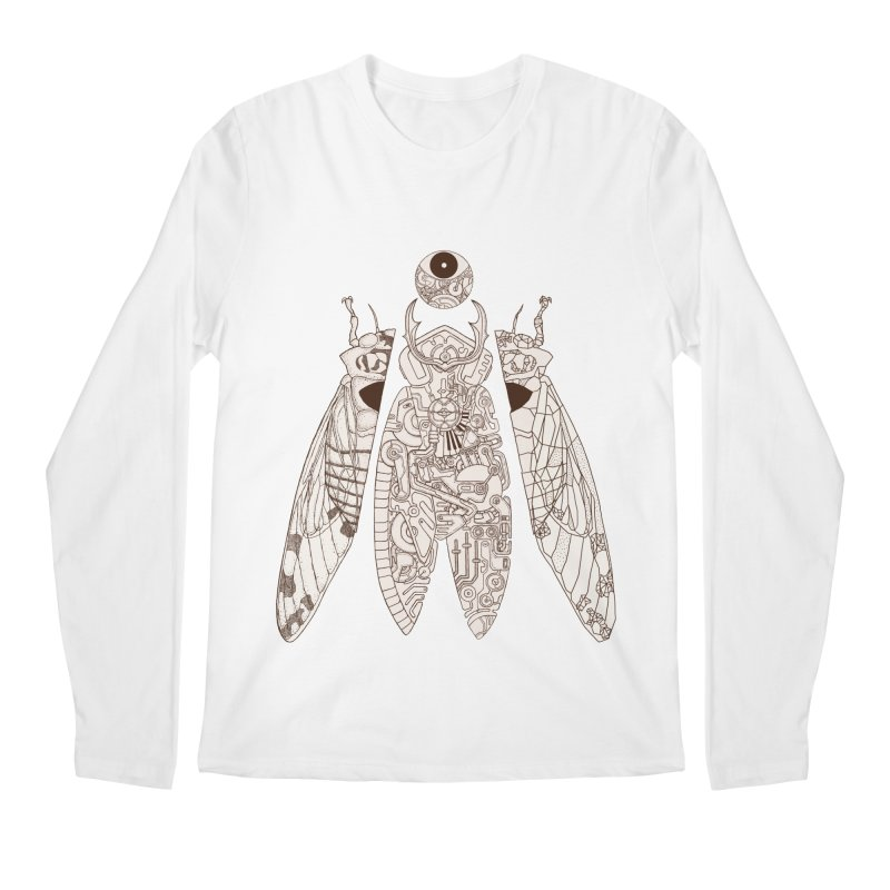 cicada poem Men's Regular Longsleeve T-Shirt by makapa's Artist Shop