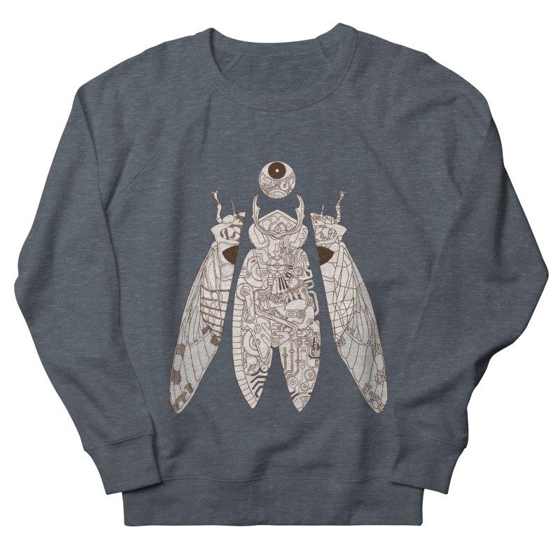 cicada poem Women's French Terry Sweatshirt by makapa's Artist Shop