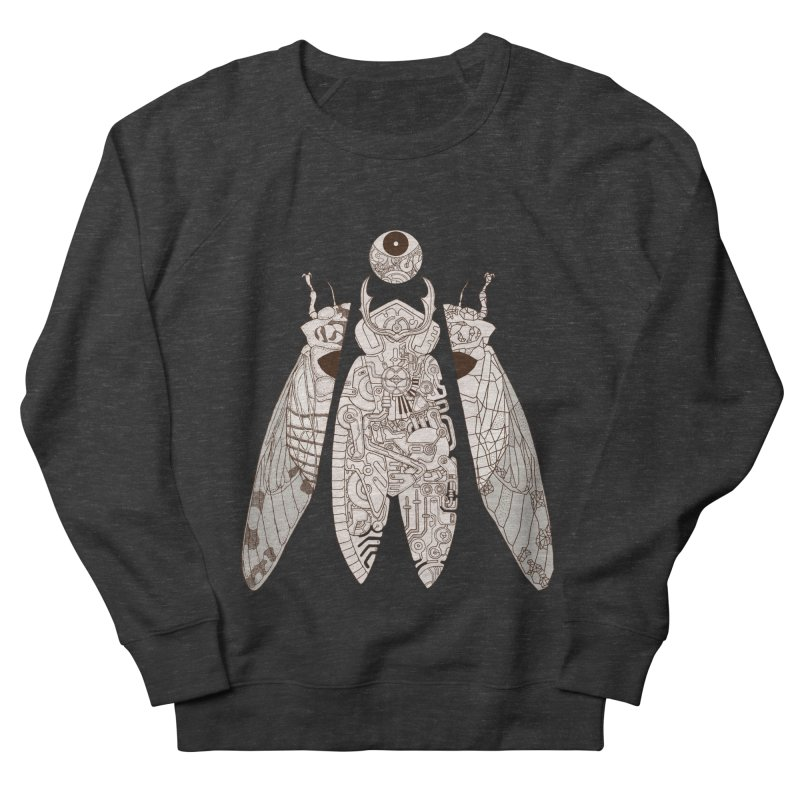cicada poem Men's French Terry Sweatshirt by makapa's Artist Shop