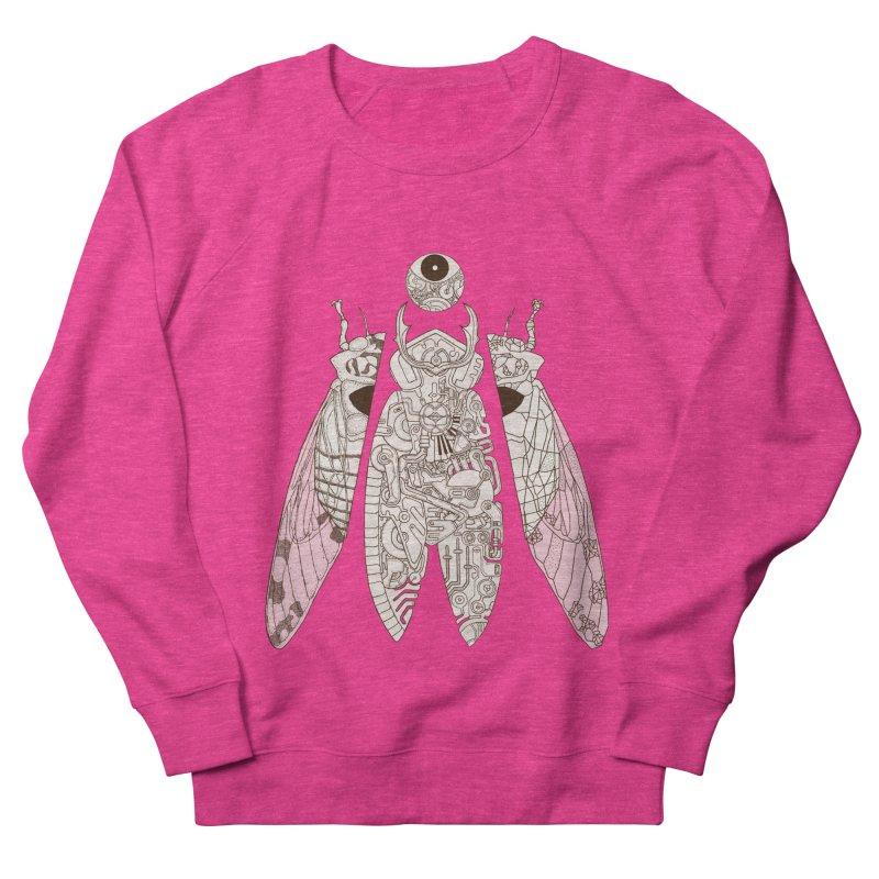 cicada poem Men's French Terry Sweatshirt by makapa's Artist Shop