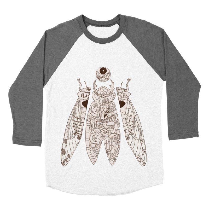 cicada poem Women's Baseball Triblend T-Shirt by makapa's Artist Shop
