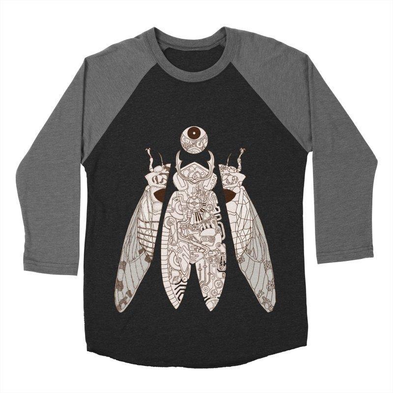 cicada poem Men's Baseball Triblend T-Shirt by makapa's Artist Shop