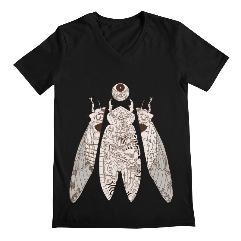 cicada poem Men's Regular V-Neck by makapa's Artist Shop