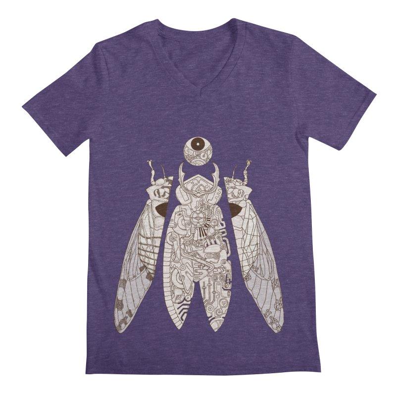 cicada poem Men's V-Neck by makapa's Artist Shop