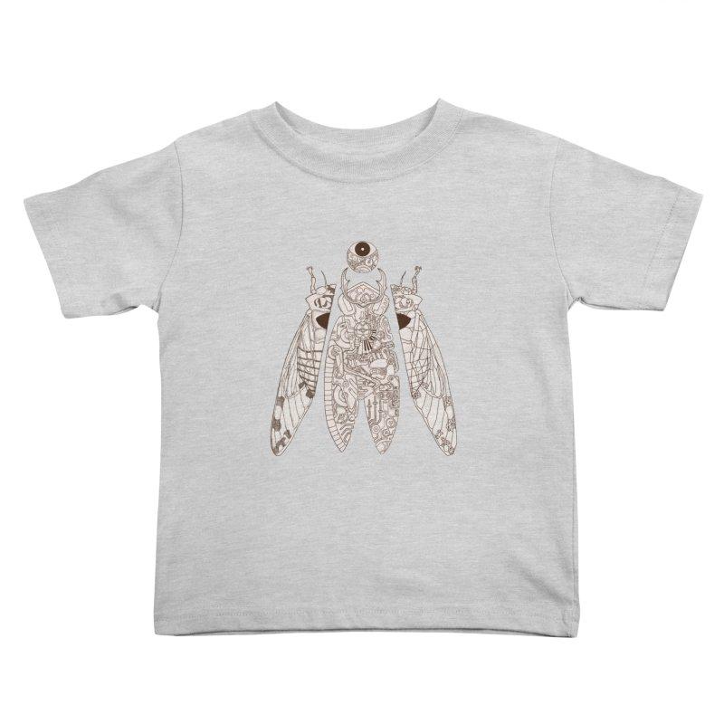 cicada poem Kids Toddler T-Shirt by makapa's Artist Shop