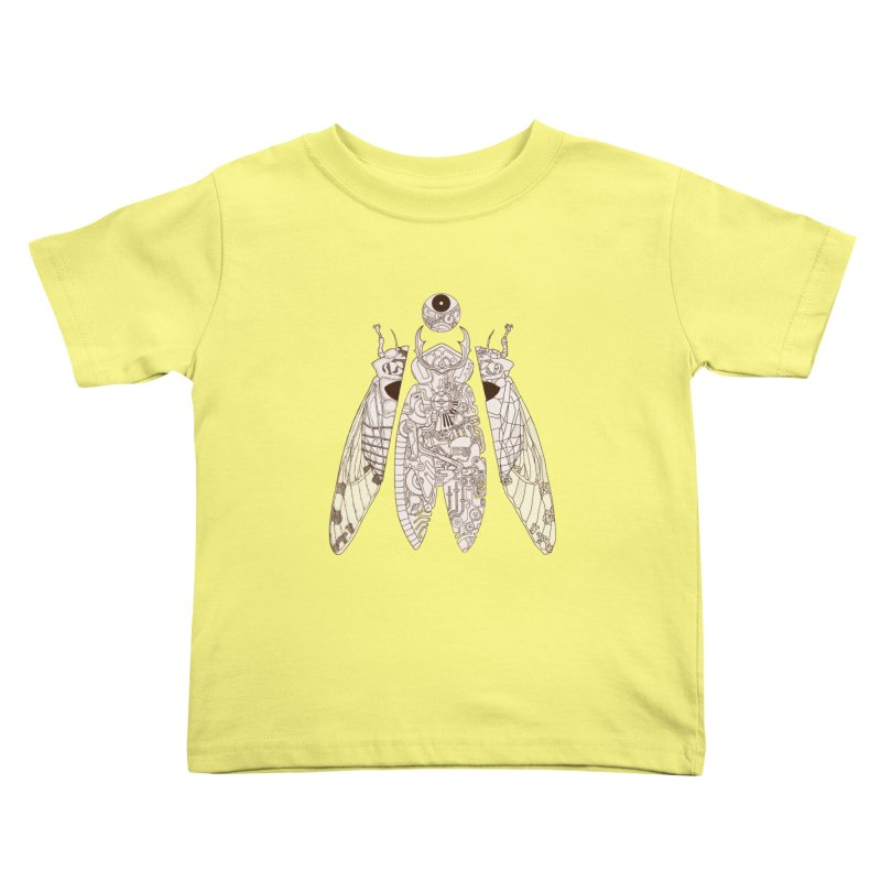 cicada poem Kids Toddler T-Shirt by makapa's Artist Shop