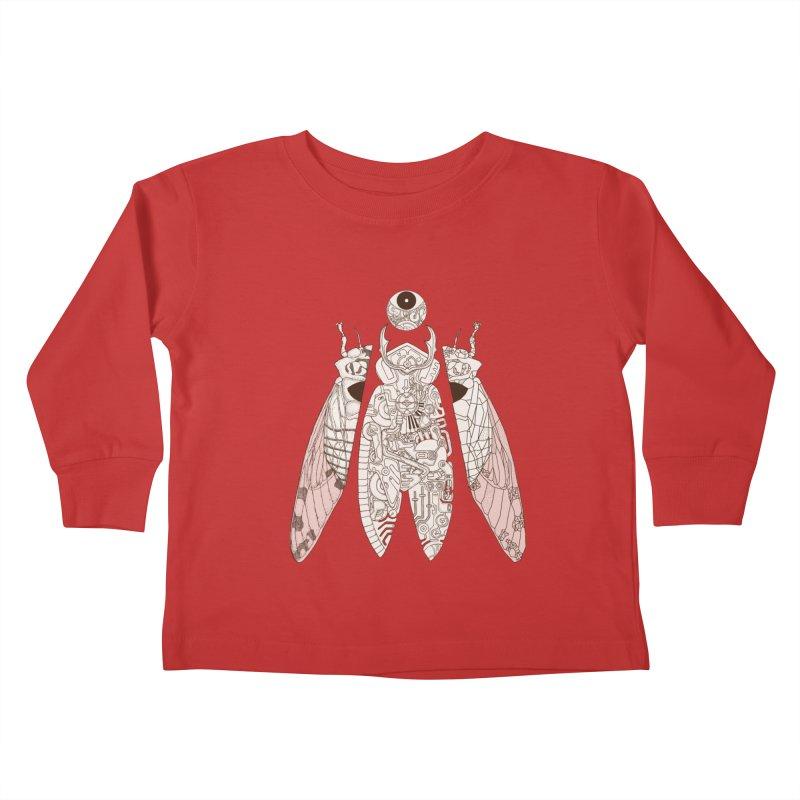 cicada poem Kids Toddler Longsleeve T-Shirt by makapa's Artist Shop