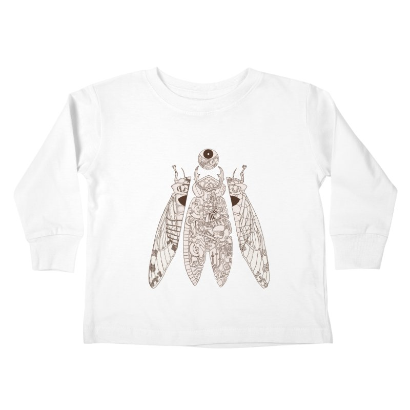 cicada poem Kids Toddler Longsleeve T-Shirt by makapa's Artist Shop