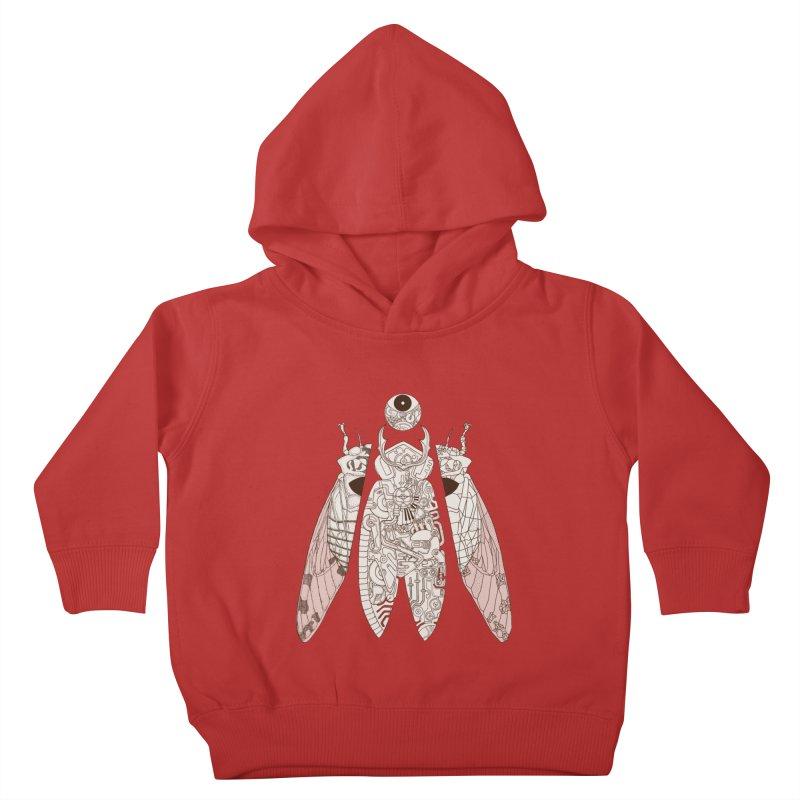 cicada poem Kids Toddler Pullover Hoody by makapa's Artist Shop