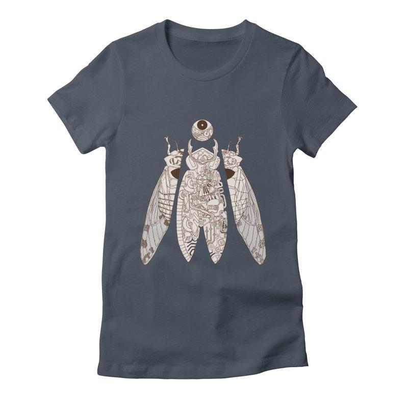 cicada poem Women's T-Shirt by makapa's Artist Shop