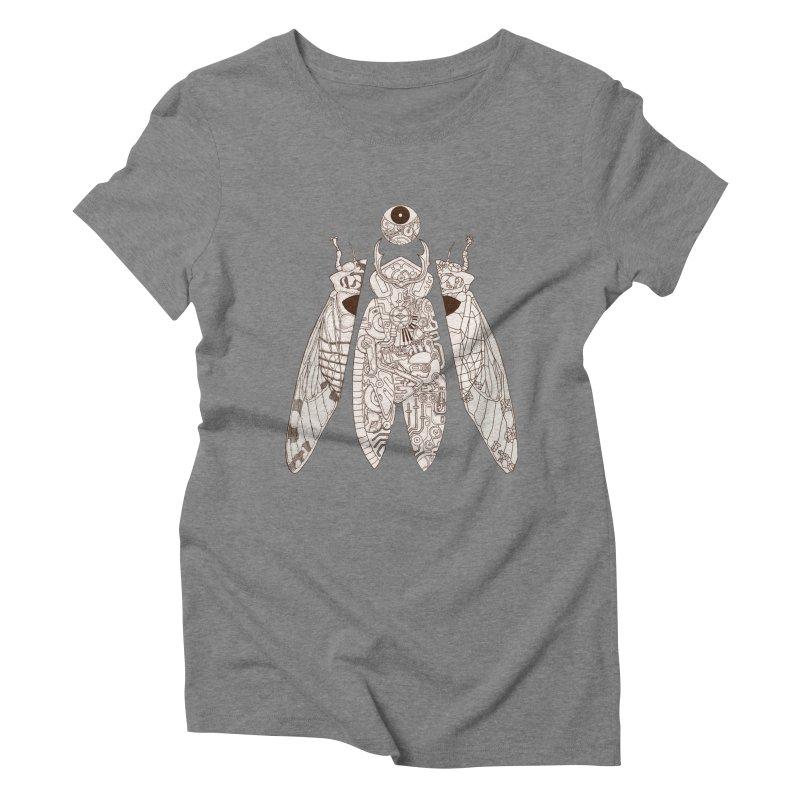 cicada poem Women's Triblend T-Shirt by makapa's Artist Shop