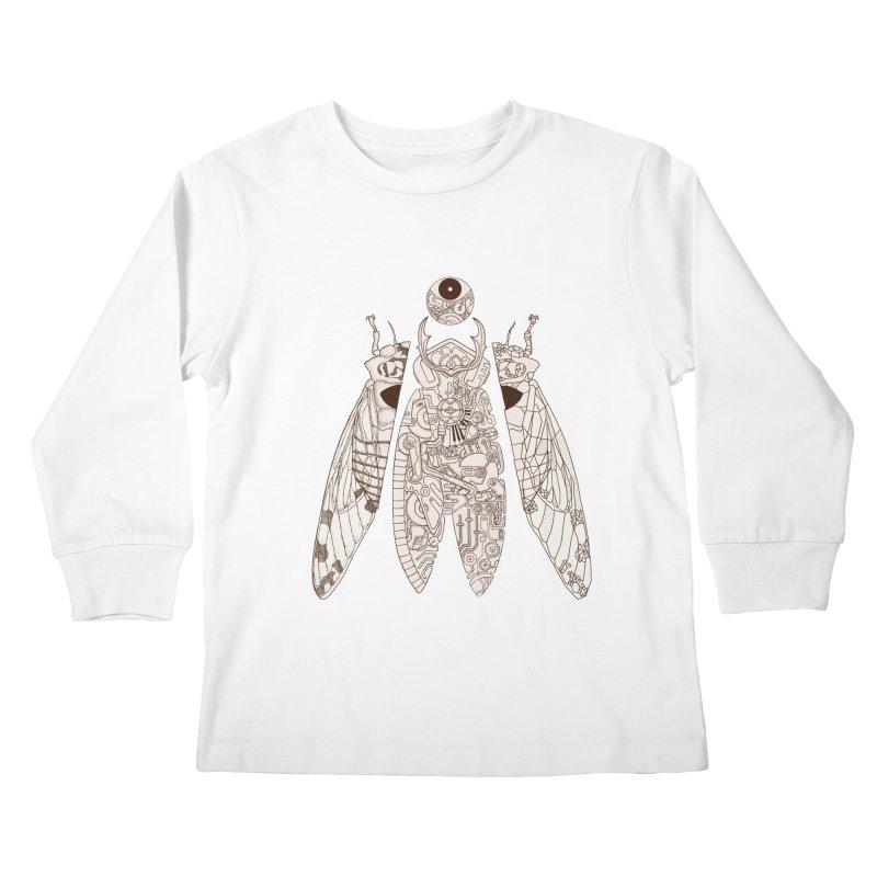 cicada poem Kids Longsleeve T-Shirt by makapa's Artist Shop