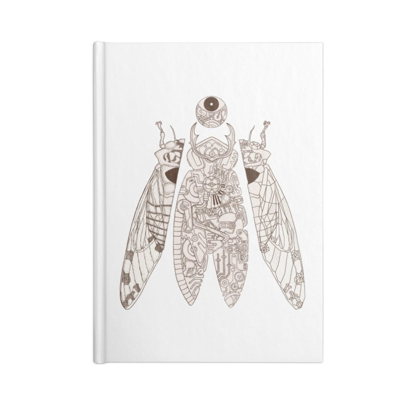 cicada poem Accessories Notebook by makapa's Artist Shop