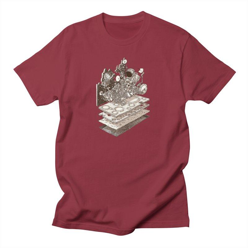 dream rover Men's T-Shirt by makapa's Artist Shop