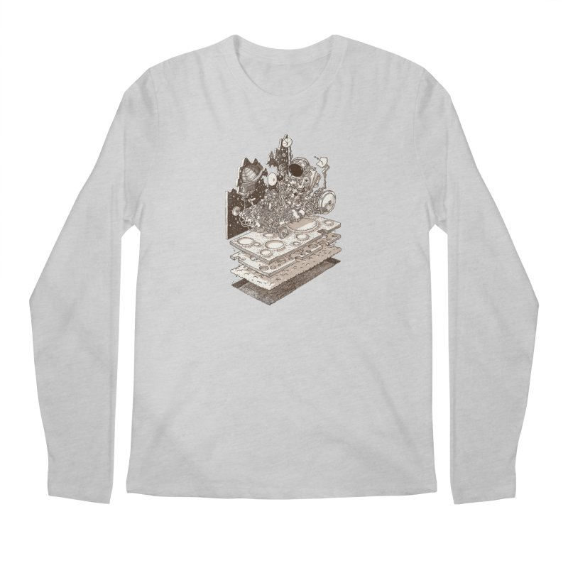 dream rover Men's Longsleeve T-Shirt by makapa's Artist Shop