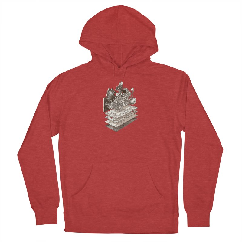 dream rover Men's Pullover Hoody by makapa's Artist Shop