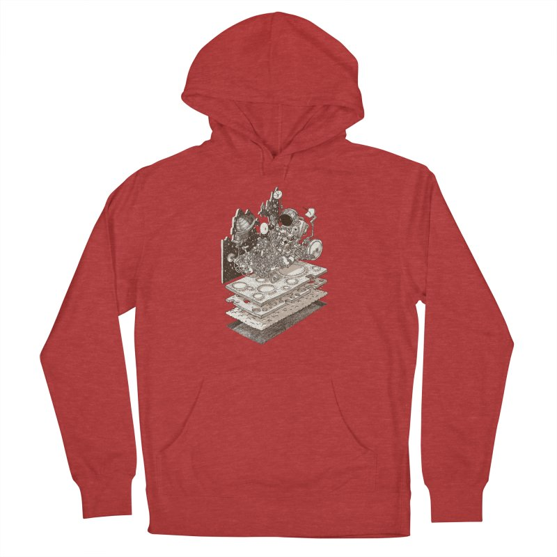 dream rover Women's French Terry Pullover Hoody by makapa's Artist Shop