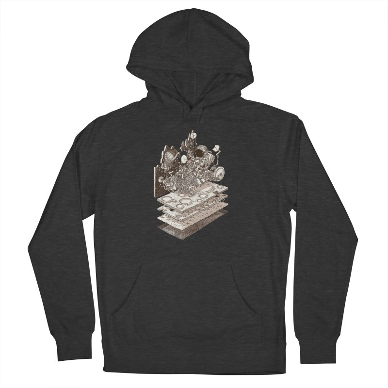 dream rover Men's French Terry Pullover Hoody by makapa's Artist Shop