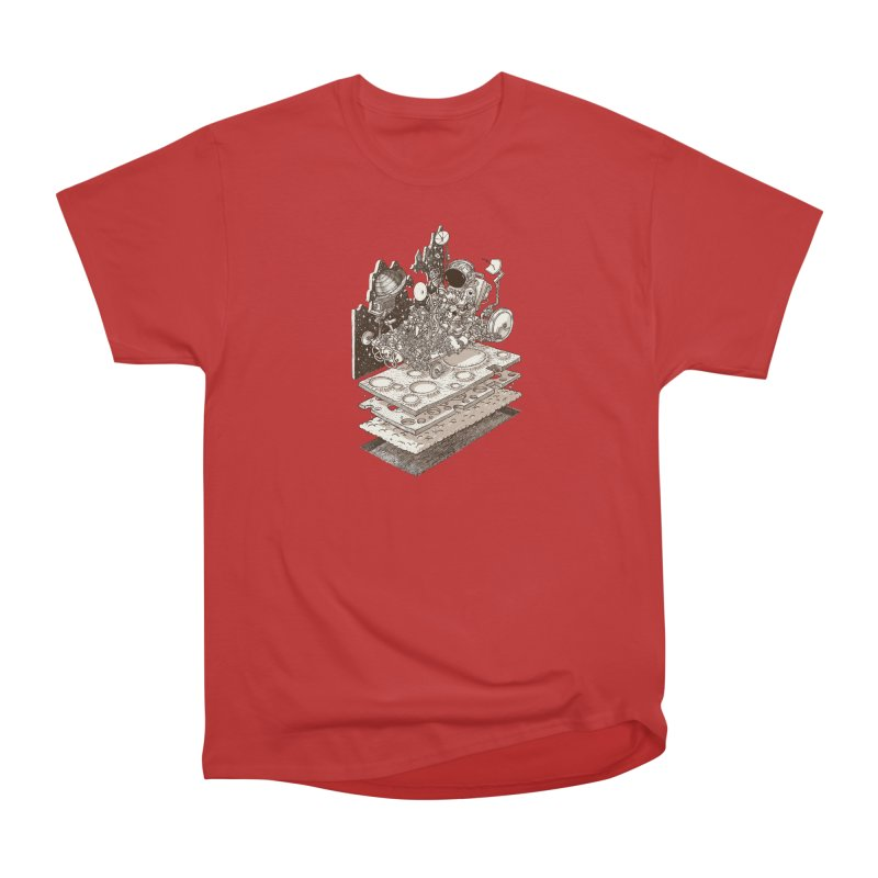 dream rover Men's Heavyweight T-Shirt by makapa's Artist Shop