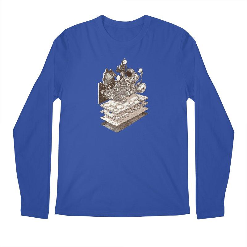 dream rover Men's Regular Longsleeve T-Shirt by makapa's Artist Shop