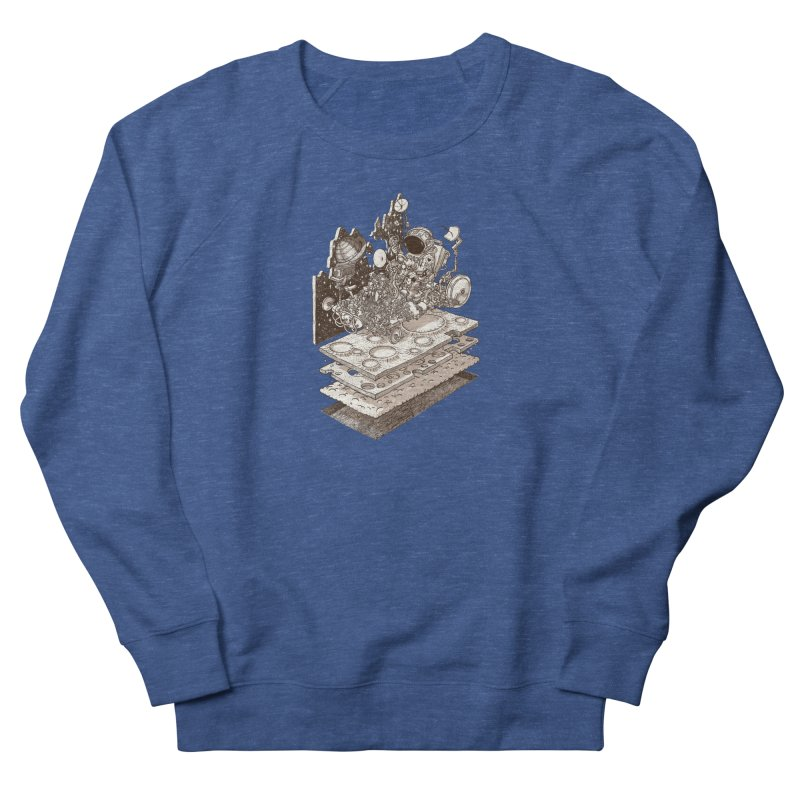 dream rover Women's French Terry Sweatshirt by makapa's Artist Shop