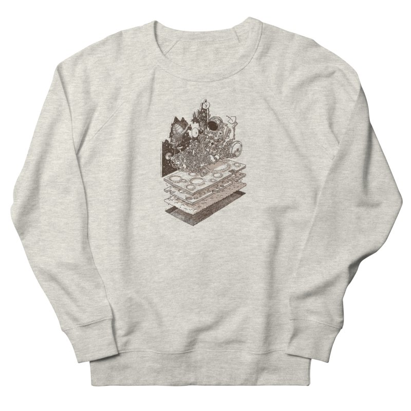dream rover Women's Sweatshirt by makapa's Artist Shop