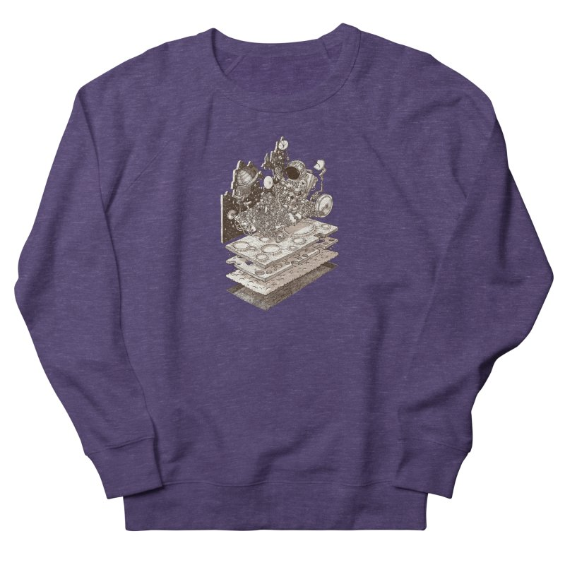 dream rover Men's French Terry Sweatshirt by makapa's Artist Shop