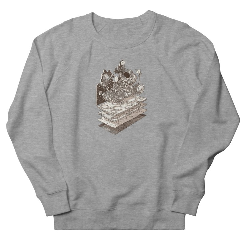 dream rover Men's French Terry Sweatshirt by makapa's Artist Shop