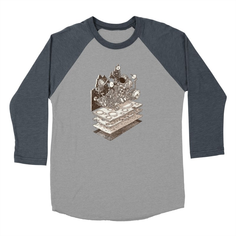 dream rover Women's Longsleeve T-Shirt by makapa's Artist Shop