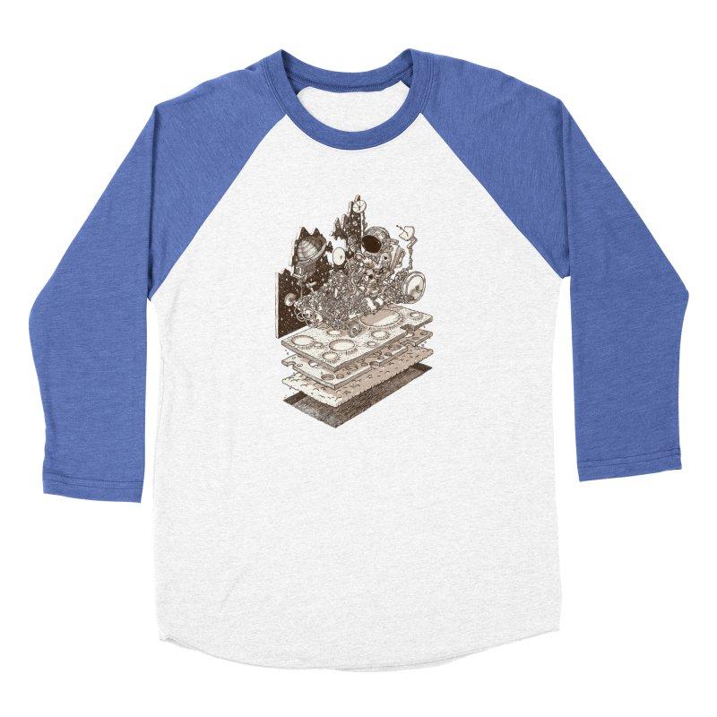 dream rover Men's Baseball Triblend Longsleeve T-Shirt by makapa's Artist Shop