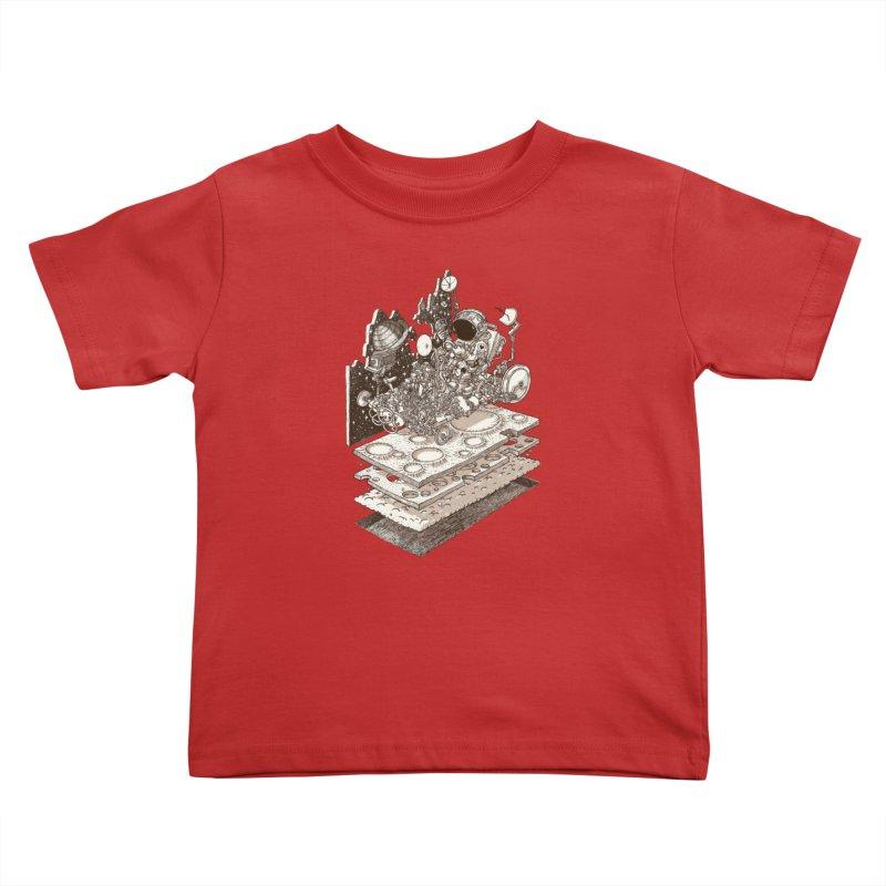 dream rover Kids Toddler T-Shirt by makapa's Artist Shop
