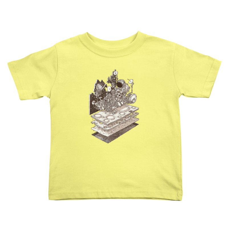 dream rover Kids Toddler T-Shirt by makapa's Artist Shop