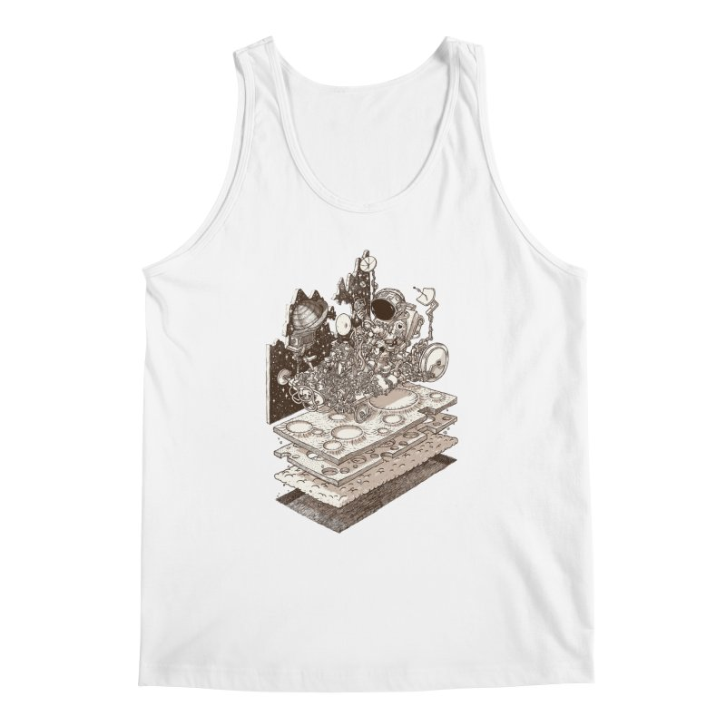 dream rover Men's Tank by makapa's Artist Shop