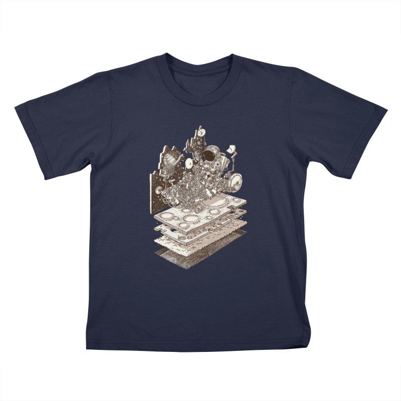 dream rover Kids T-Shirt by makapa's Artist Shop