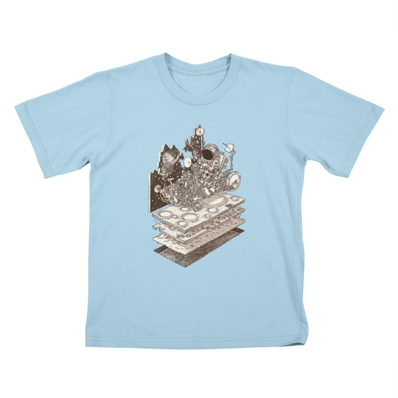 dream rover Kids T-Shirt by makapa's Artist Shop