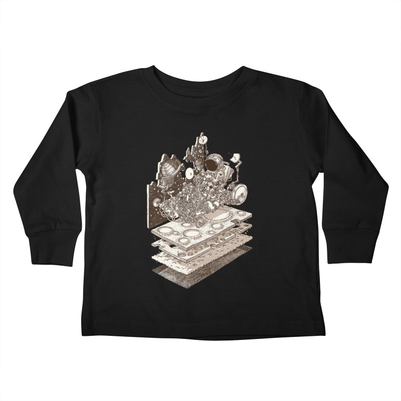 dream rover Kids Toddler Longsleeve T-Shirt by makapa's Artist Shop