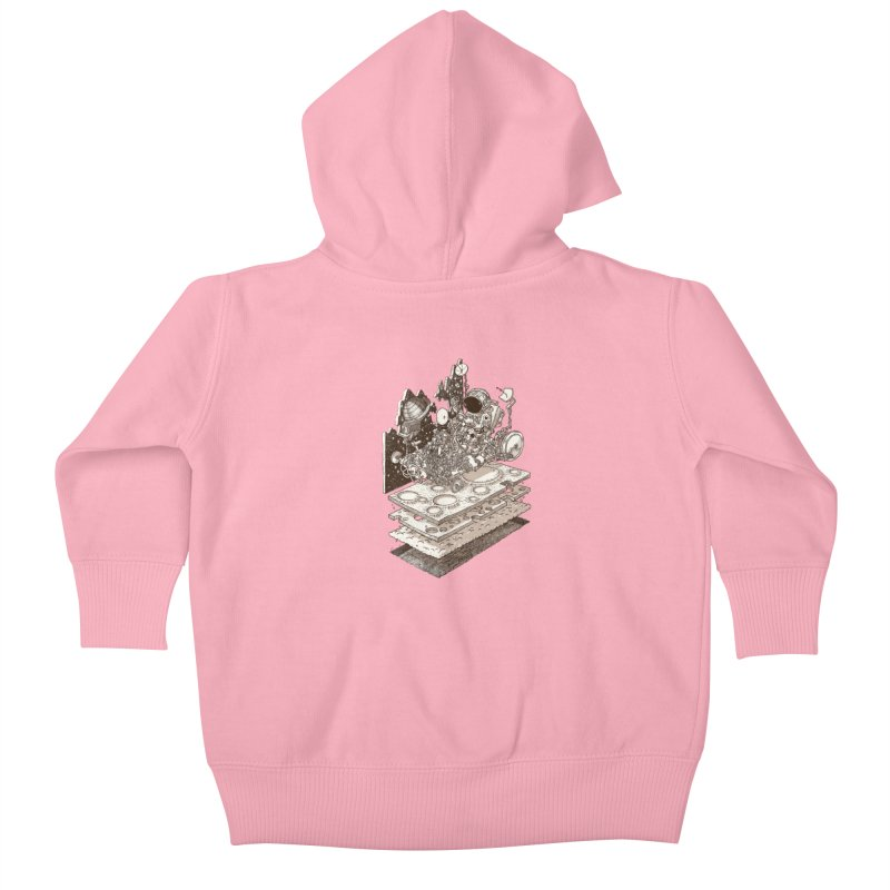 dream rover Kids Baby Zip-Up Hoody by makapa's Artist Shop