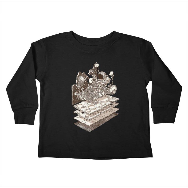 dream rover Kids Toddler Longsleeve T-Shirt by makapa's Artist Shop