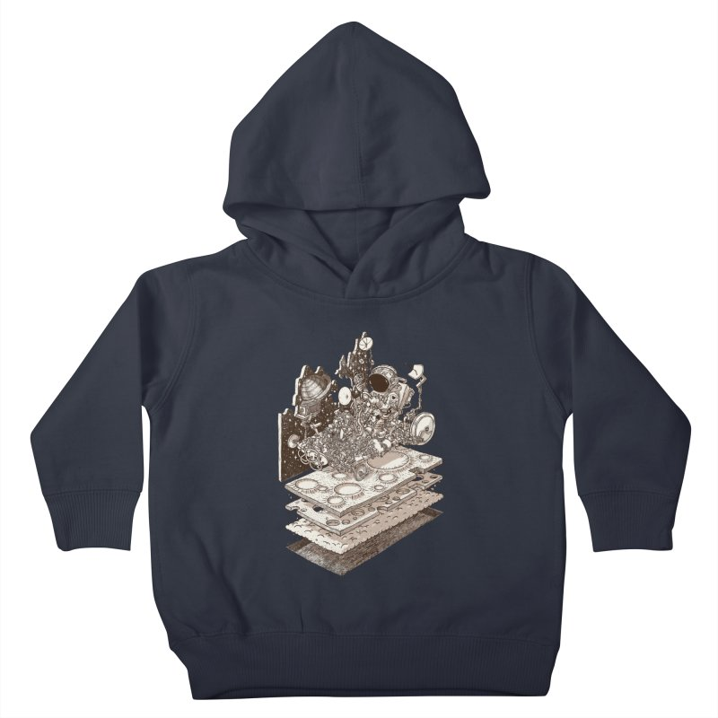 dream rover Kids Toddler Pullover Hoody by makapa's Artist Shop