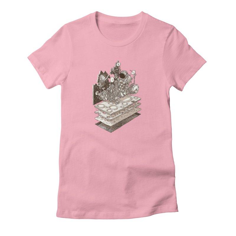 dream rover Women's T-Shirt by makapa's Artist Shop