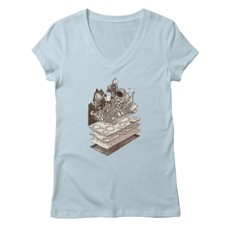 dream rover Women's Regular V-Neck by makapa's Artist Shop