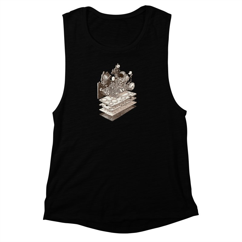 dream rover Women's Muscle Tank by makapa's Artist Shop