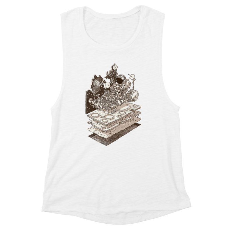 dream rover Women's Tank by makapa's Artist Shop